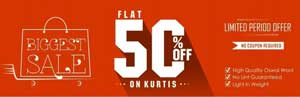Biggest Sale Limited Period Offer
