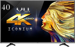 Vu 102cm (40) Ultra HD (4K) Smart LED TV at 7% Off + Extra 10% Off
