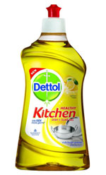 Dettol Kitchen Dish and Slab Gel – 400 ml (Lemon Fresh)