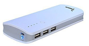Lappymaster 13000mAh Power Bank with 3 USB Output