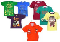 Kids Branded T-Shirts at Upto 90% Off Starting at Rs. 299