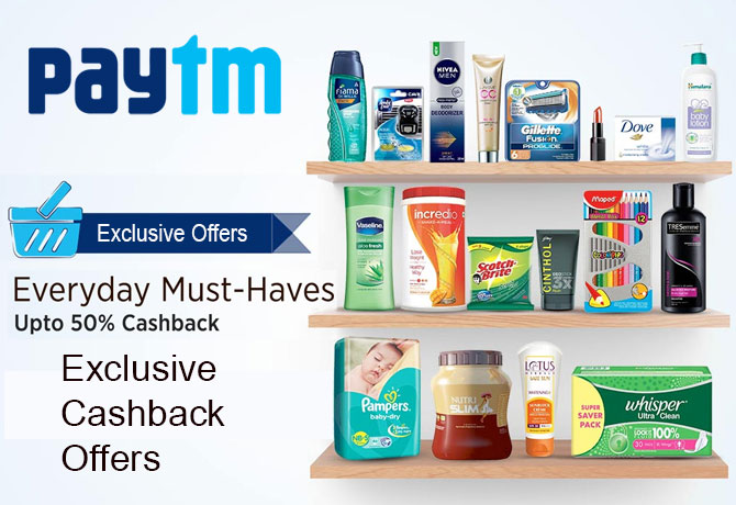 Paytm Exclusive Offers