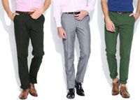 Wills Lifestyle Men's Trousers