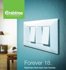 Crabtree Switches with Indicator Boards Covers Plates