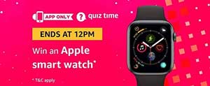 Amazon-QuizTime-Answers-to-Win-Apple-Smart Watch