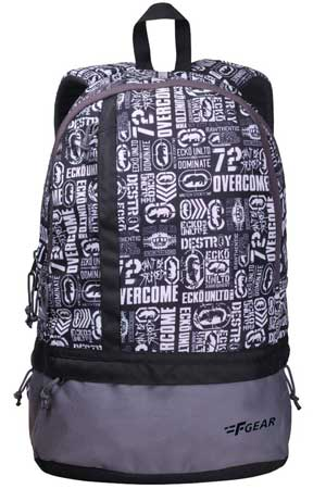 F Gear Burner P8 20 Ltrs White Casual Laptop Backpack