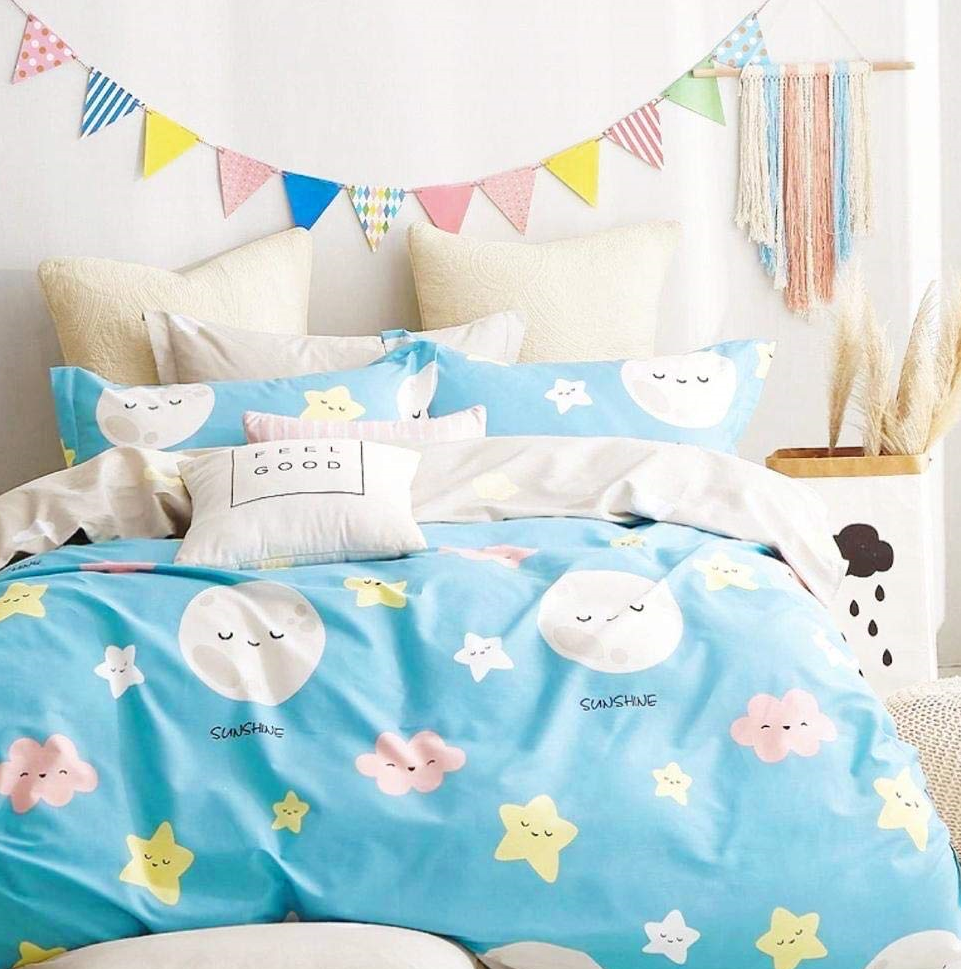 King-Size-Star-Night-Bedsheet-with-Magnetic-Shadow