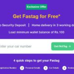 Get FASTag for FREE